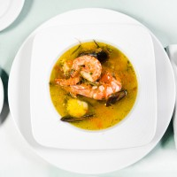Thai Prawn and Mussel Soup