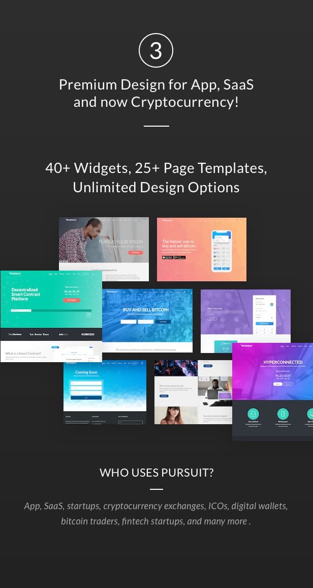Pursuit - A Flexible App & Cloud Software Theme - 4