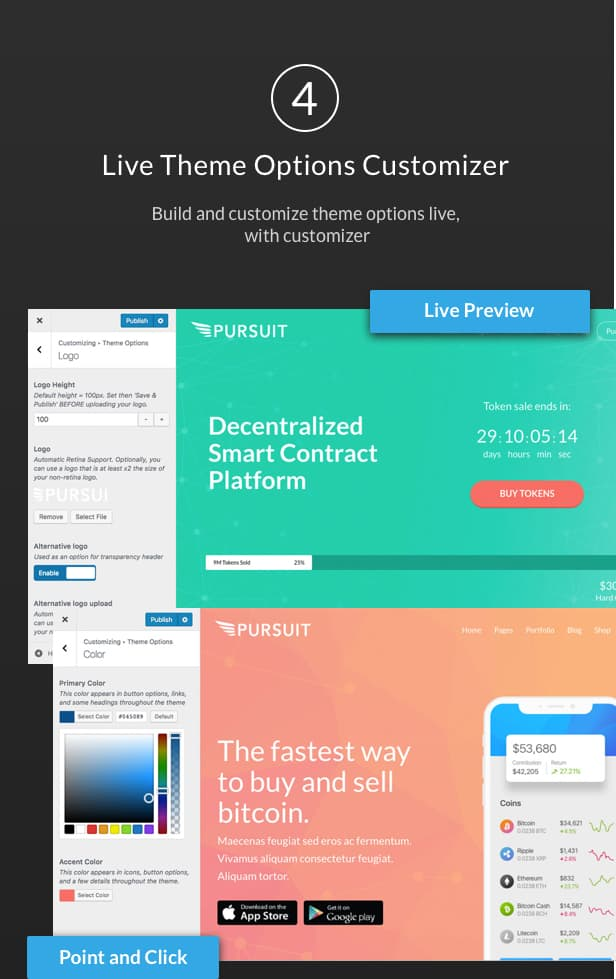 Pursuit - A Flexible App & Cloud Software Theme - 5