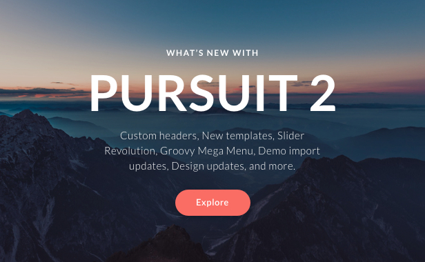 Pursuit - A Flexible App & Cloud Software Theme - 1