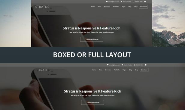Stratus - App, SaaS & Product Showcase